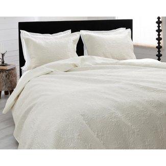 Sleeptime Dekbedovertrek Sleeptime Bedsprei Clara Cream Micropercal