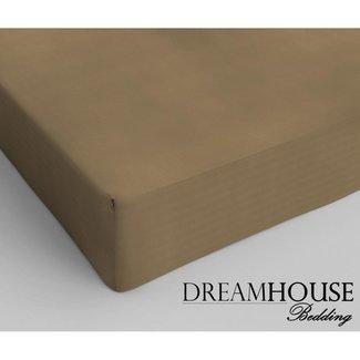 "Dreamhouse ""2 halen = 1 betalen"" Hoeslaken Dreamhouse - Katoen - Taupe"