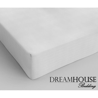 "Dreamhouse ""2 halen = 1 betalen"" Hoeslaken Dreamhouse - Katoen - Wit"