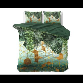 Dreamhouse Dekbedovertrek Forest Sceptic Green - Katoen Satijn