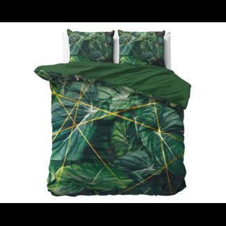 "Dreamhouse ""2 halen = 1 betalen"" Dekbedovertrek Nature Vibes Green - Katoen Satijn"