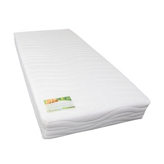 Premium Pocketvering matras Bamboe met koudschuim - dikte 25cm