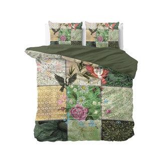 """Sleeptime """"2 halen = 1 betalen"""" Dekbedovertrek Kabuki Garden Green - Katoen Blended"""