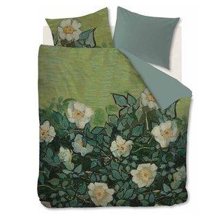 Beddinghouse Dekbedovertrek Beddinghouse Van Gogh Wild Roses Green