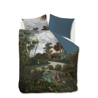 Beddinghouse At Home by BeddingHouse Voyage Dekbedovertrek - Groen