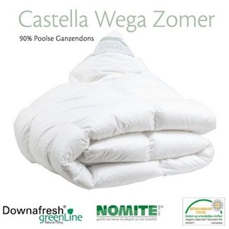 Castella Zomerdekbed Castella Wega met 90% Poolse ganzendons