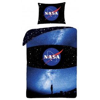Dekbedovertrek Melkweg - Eenpersoons - 140  x 200 cm - Katoen