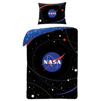 Dekbedovertrek Spacemap - Eenpersoons - 140  x 200 cm - Katoen