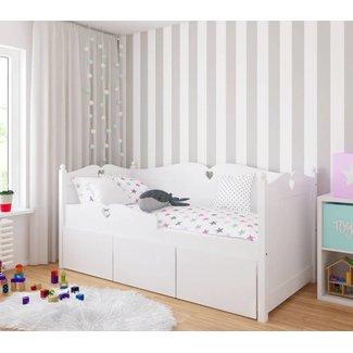 Lilli Furniture Bedbank Emma met 3 grote lades