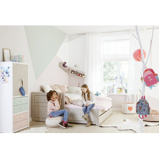LIFETIME kidsrooms Kajuitbed met logeerbed en opberglade