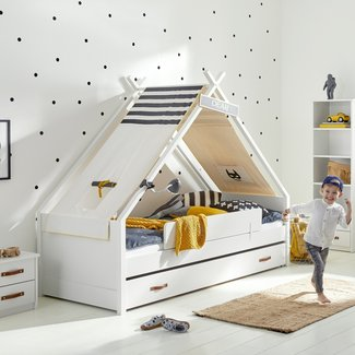 LIFETIME kidsrooms Cool kids Tipi bed - Superhero