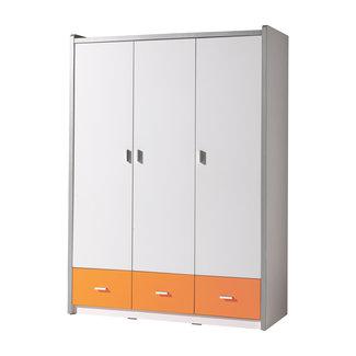 Vipack 3-deurs kledingkast Bonny Orange