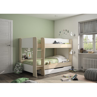Stapelbed Roomy incl. lade