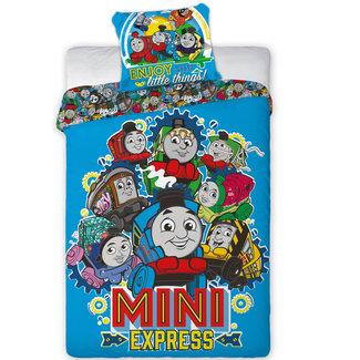 Mini Express - Dekbedovertrek - Eenpersoons - 140 x 200 cm - Multi