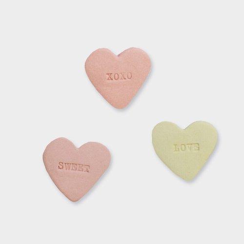 Stook Pin heart pink sweet