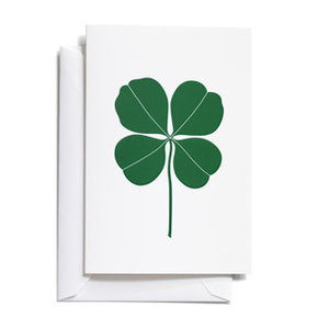 Vitra Vitra greeting card four leaf clover small