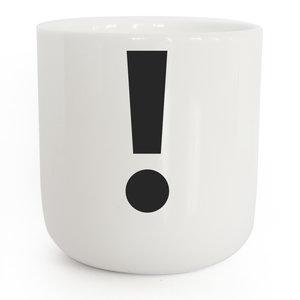 PLTY PLTY mug exclamation mark