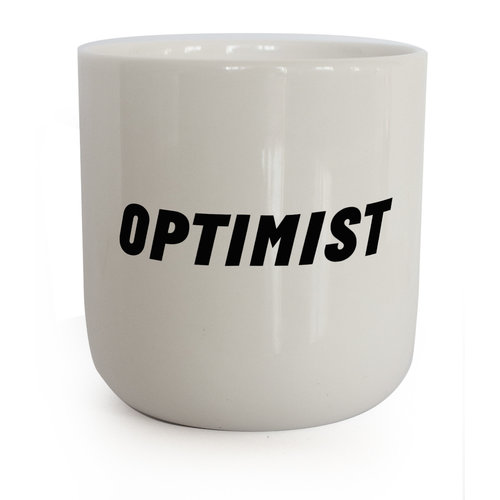PLTY PLTY mug Optimist