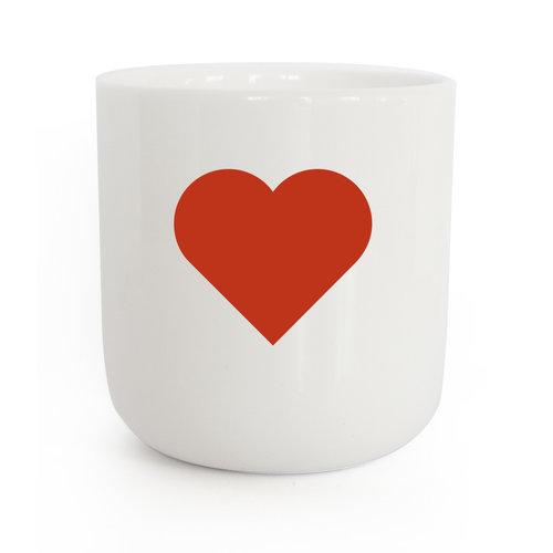 PLTY PLTY mug heart