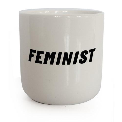 PLTY PLTY beker Feminist