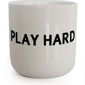 PLTY PLTY mug Play Hard