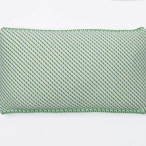 Textielmuseum Kussen S&B 30x50 neon groen