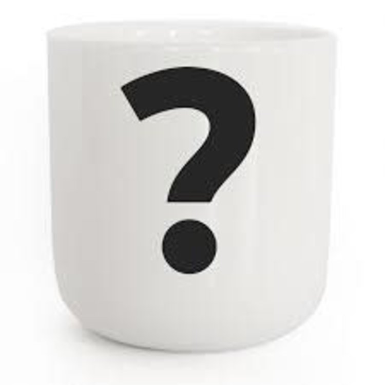 PLTY PLTY mug question mark