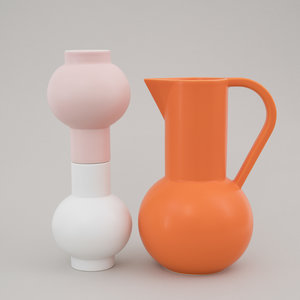 raawii Raawii vase Strøm small pink