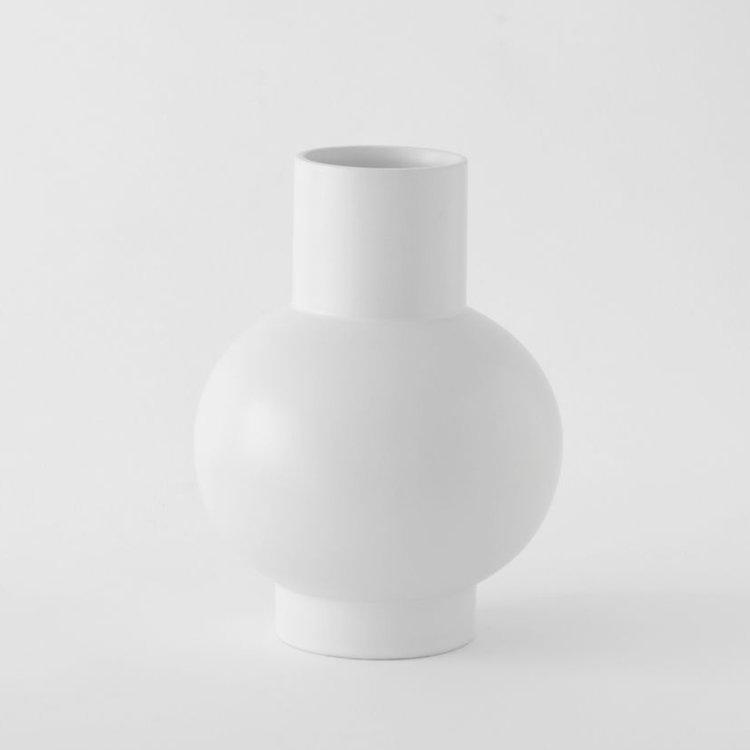 raawii Raawii vase Strøm extra large white