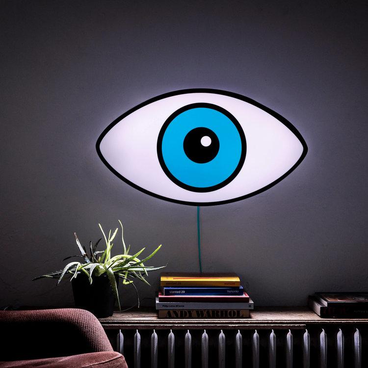Rrudi. Rudi lamp Watch Out