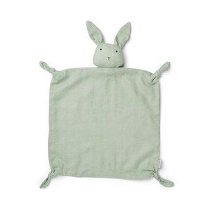 Liewood Knuffeldoek konijn mint