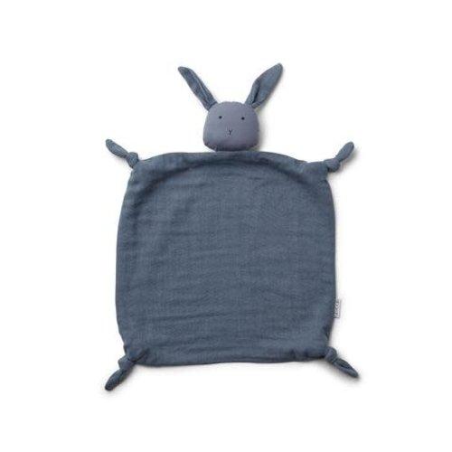 Liewood Knuffeldoek konijn blauw