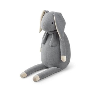 Liewood Knit teddy - Rabbit grey melange