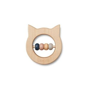 Liewood Wooden teether cat
