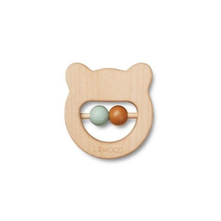 Liewood Wooden teether Bear