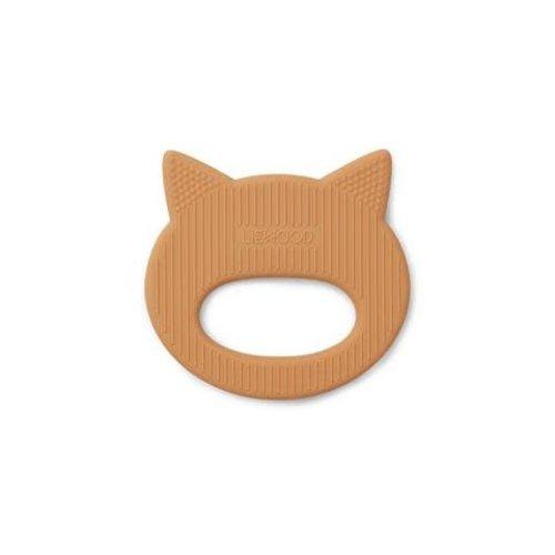 Liewood Bijtring kat mosterd