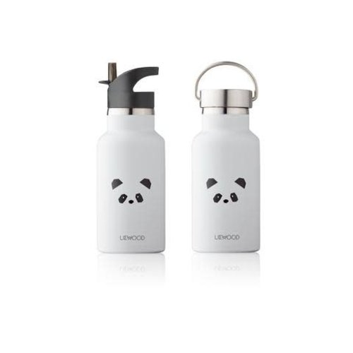 Liewood Water Bottle panda  l. grey