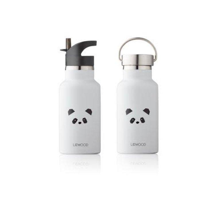 Liewood Water Bottle panda  l. grey