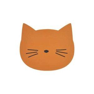 Liewood Placemat kat mosterd