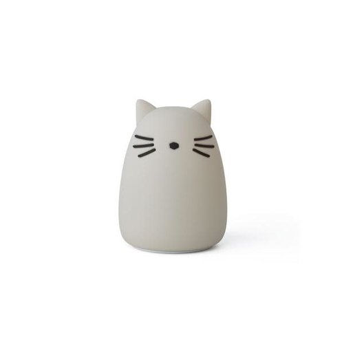 Liewood Night light - Cat grey