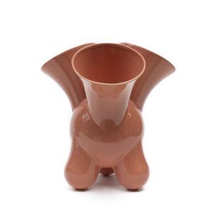 Cor Unum Vase Doodle pink