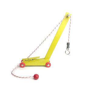 Ikonic Toys Ikonic Toys Yellow Crane