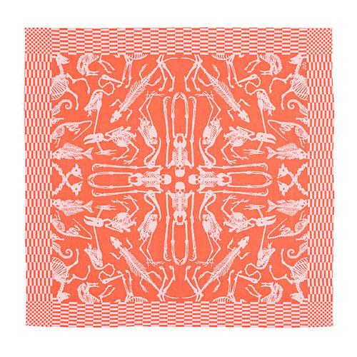 Textielmuseum Studio Job theedoek Perished oranje