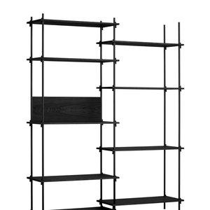Moebe Moebe cupboard shelving system black