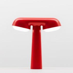 Moustache Moustache lamp TGV red