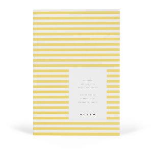 Notem notebook geel