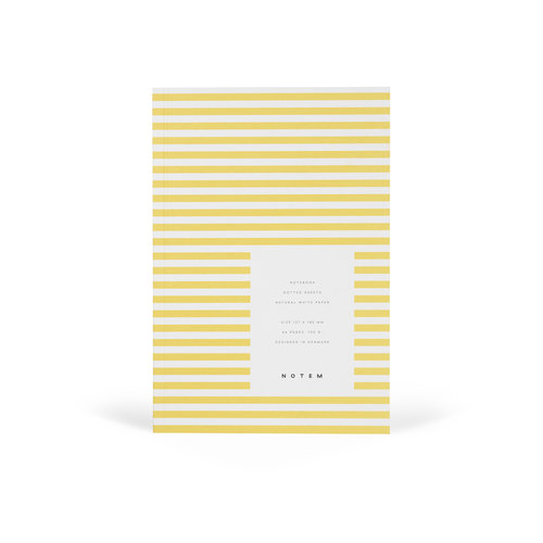 Notem Notem notebook geel