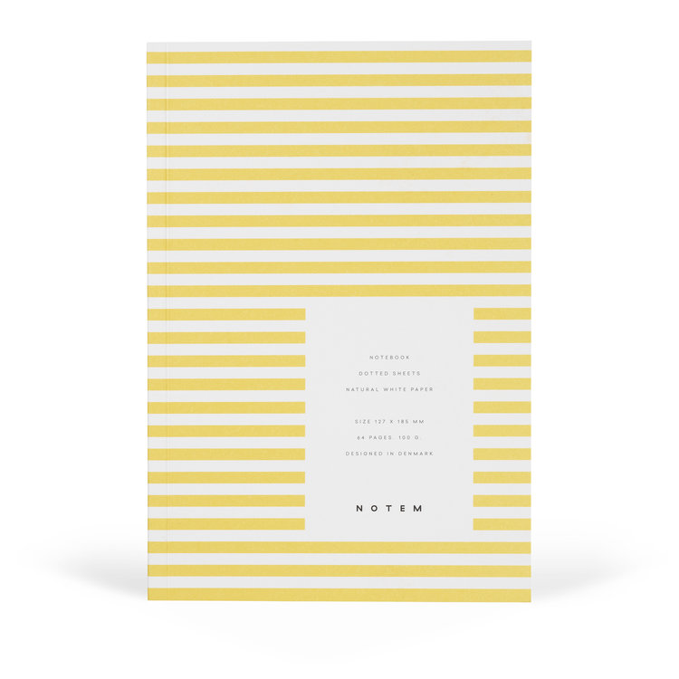 Notem Notem notebook yellow
