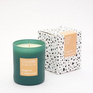 Coudre Candle tangerine cedar