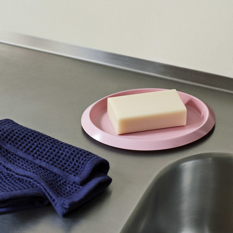 HAY HAY set of 2 dish cloths Waffle pink & blue
